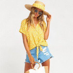 Show Me Your Mumu X The Salty Blonde - Maholo Top